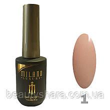 Гель-лак Milano Luxury 15ml. №001 (розовый)