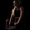 Спортивная бутылка-шейкер BlenderBottle Radian Glass Purple (скло )820мл (ORIGINAL), фото 5