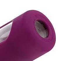 Спортивная бутылка-шейкер BlenderBottle Radian Glass Purple (скло )820мл (ORIGINAL), фото 2