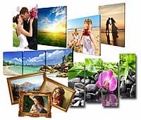 Печать фото на холсте недорого 50х70см - 640грн.