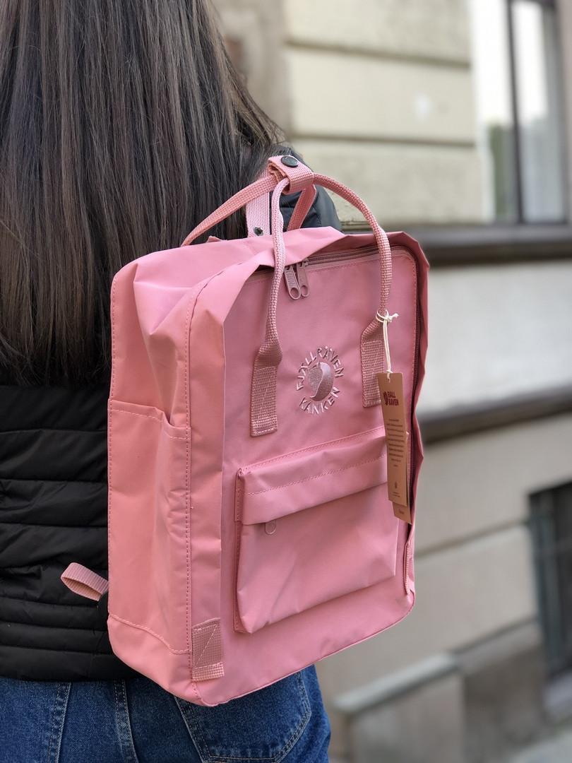 Рюкзак в стиле Fjallraven Re- Kanken Classic розовый