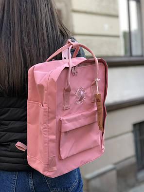 Рюкзак в стиле Fjallraven Re- Kanken Classic розовый, фото 2