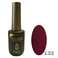 Гель-лак Milano Luxury 15ml. №132 (бордовый)