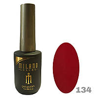 Гель-лак Milano Luxury 15ml. №134 (красный)