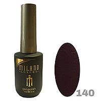 Гель-лак Milano Luxury 15ml. №140 (бордовый)