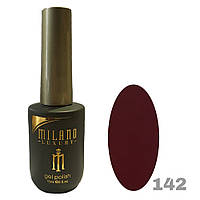 Гель-лак Milano Luxury 15ml. №142 (бордовый)