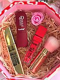 Хайлайтер  + Помада для бровей + Помада жидкая водостойкая Lip Gloss + Тушь Karite Промо набор №0020, фото 9