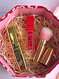 Хайлайтер  + Помада для бровей + Помада жидкая водостойкая Lip Gloss + Тушь Karite Промо набор №0020, фото 10