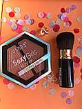 Тени Ushas 12 color  + Помада для бровей Anylady Промо набор №0052, фото 4
