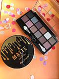 Тени Ushas 12 color  + Помада для бровей Anylady + Кисть для бровей tarte Gold Промо набор №0053, фото 4