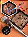 Тени Ushas 12 color  + Помада для бровей Anylady + Кисть для бровей tarte Gold Промо набор №0053, фото 6