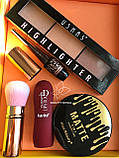 Блеск оттеночный Kiss Beauty + Пудра Kiss Beauty 2in1 Промо набор №0056, фото 9