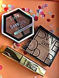 Помада жидкая водостойкая Lip Gloss  + Пудра Kiss Beauty 2in1 Matte №0058, фото 7