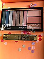 Тушь для ресниц объемная  +Тени Fabble 10 color Eyeshadow Промо набор №0059