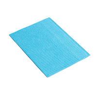 Стоматологічні нагрудні серветки Verisoft - 500 шт/уп, блакитний