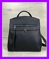 da84dbbc266b Женская молодежная городская сумка-рюкзак трансформер WeLassie Дэнис синяя