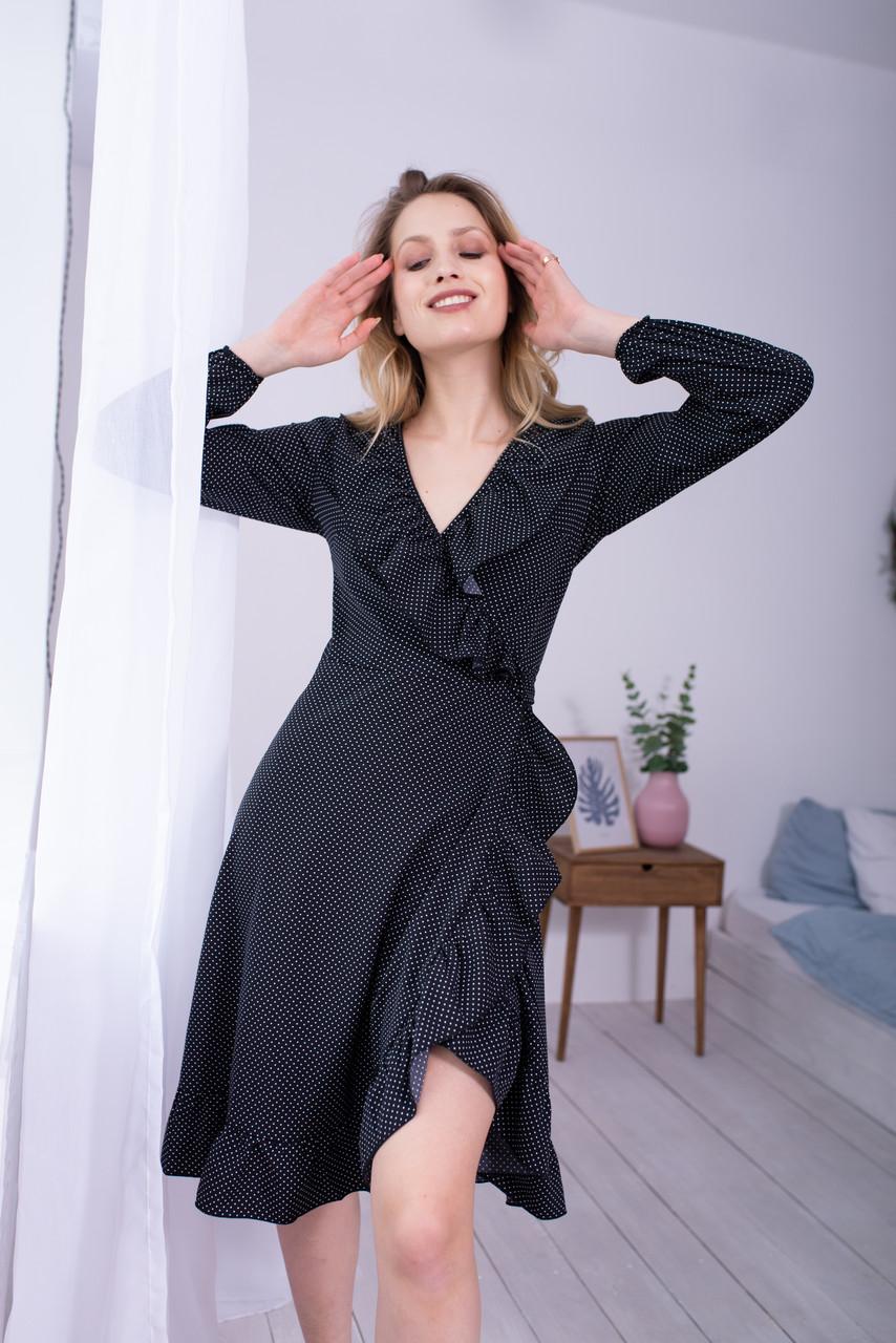 Платье LiLove 48-358 46-48 черный