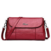Маленькая женская сумочка красного  цвета опт, фото 1