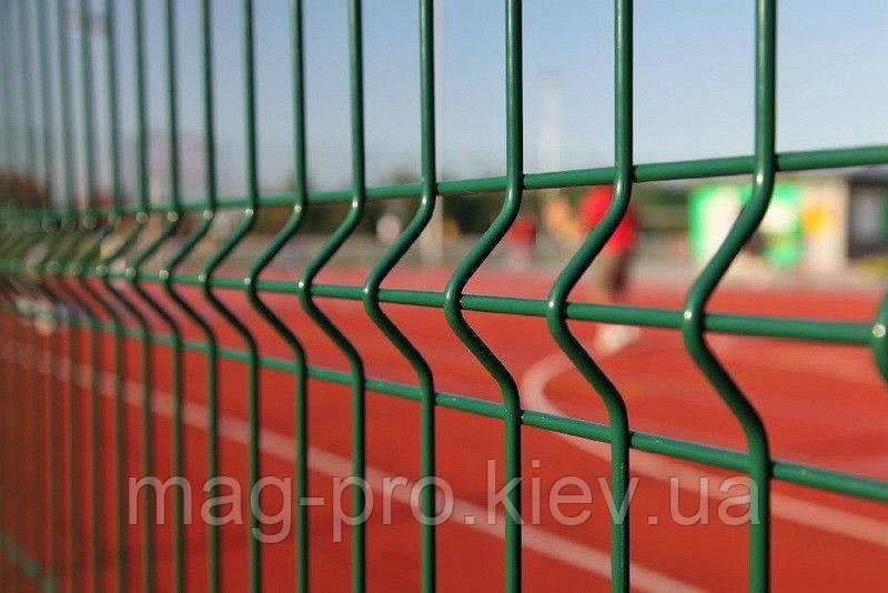 Ограждение спортивных площадок (2 м. длинная сторона и 4 м. короткая) для баскетбола 15х28