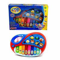 Детское игрушечное Пианино MP 4087 /2216 A 11 В мире животных
