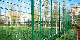 Ограждение спортивных площадок (2 м. длинная сторона и 4 м. короткая) для футбола 70х110, фото 3