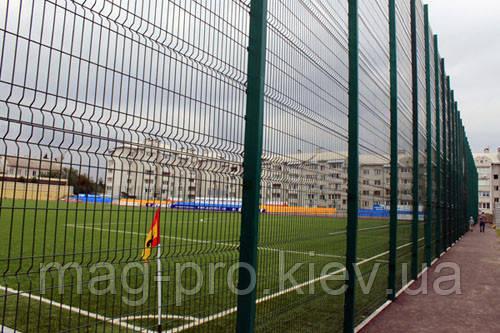 Ограждение спортивных площадок (2 м. длинная сторона и 4 м. короткая) для гандбола 18х38