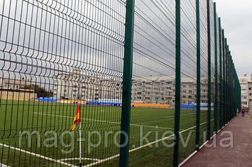 Ограждение спортивных площадок (2 м. длинная сторона и 4 м. короткая) для гандбола 18х38, фото 2