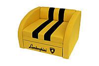 Раскладное кресло кровать Смарт желтый