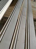 Високий дерев'яний плінтус під покраску : Вільха, 120х20 мм, Класік