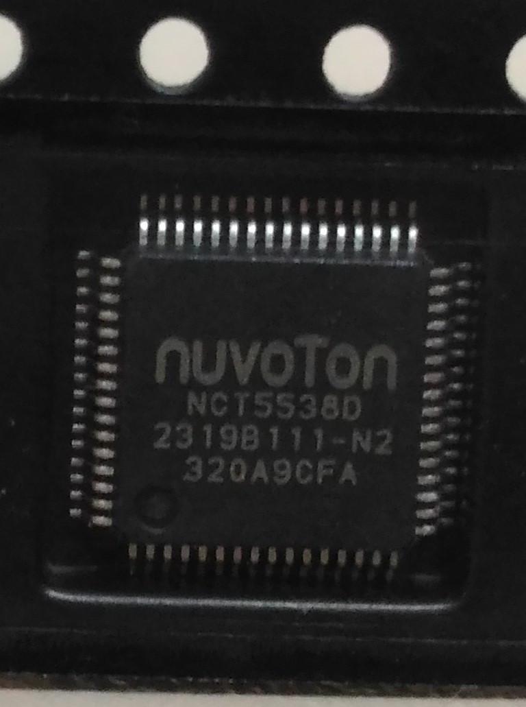 Микросхема Nuvoton NCT5538D Новая, в ленте.