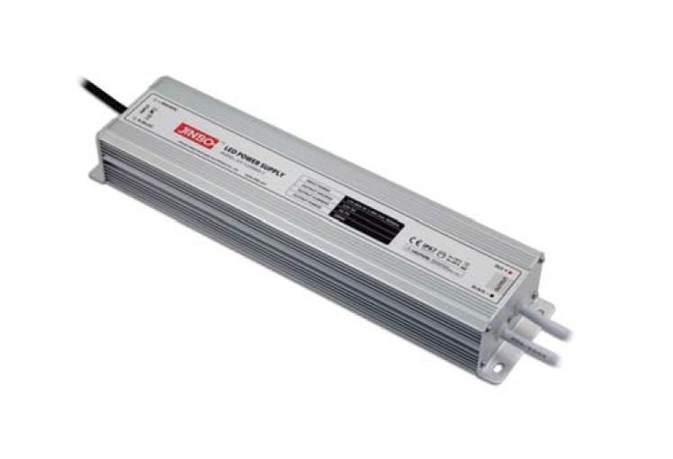 Блок живлення JLV-24200KA-C JINBO 24вольт 200 Вт герметичний IP67 11194