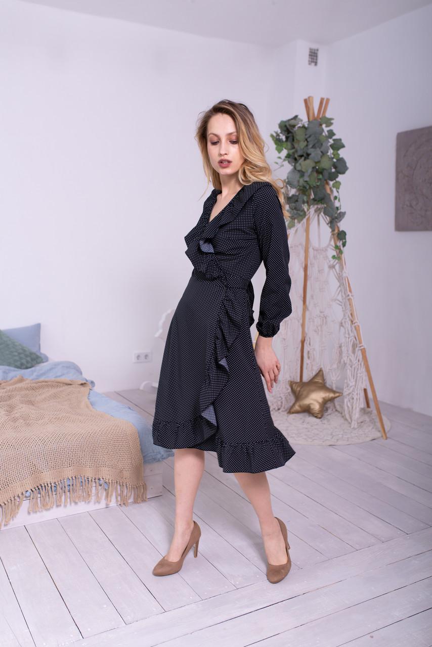 Платье LiLove 48-358 42-44 черный