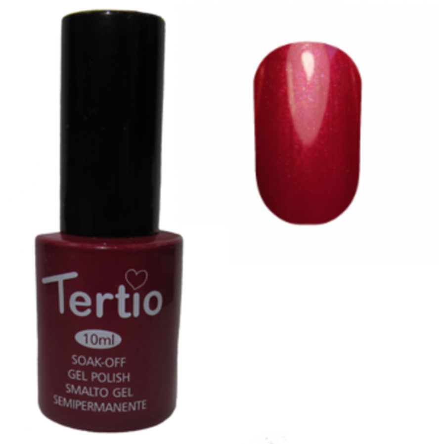 Гель-лак Tertio № 007 (сливовый с микроблеском)