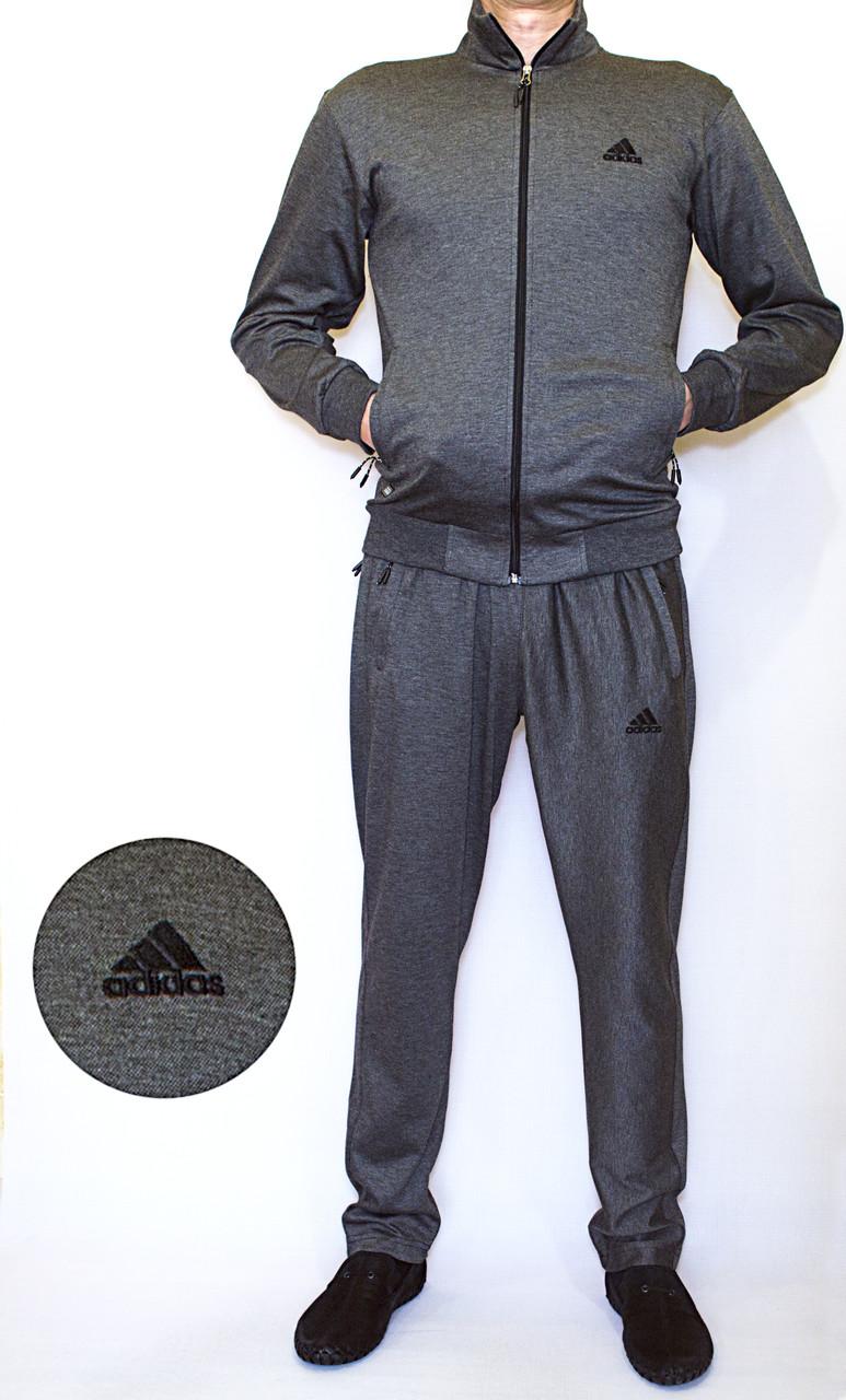 Мужской спортивный костюм ADIDAS (SLIM)  (Реплика) S-L