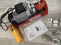 💡Тельфер лебедка Euro Craft HJ206 300 · 600 кг · 2000 Вт Польша / Трос 12 м