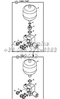 Аккумулятор-клапан, система привода Е2-14-1-ОП