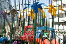 Ограждение детских площадок от 250м.пог. высота 2 м., фото 2