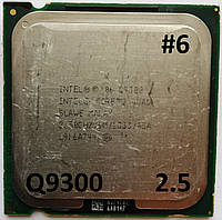 Процессор ЛОТ#6 Intel® Core™2 Quad Q9300 M1 SLAWE 2.5GHz 6M Cache 1333 MHz FSB Socket 775 Б/У, фото 1