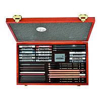 Набор художественный Koh-i-Noor Gioconda 8895, 39 предметов, деревянный пенал