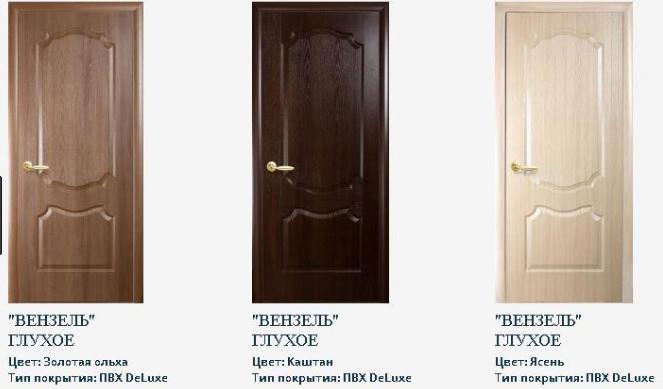 Дверное полотно Новый Стиль Фортис Вензельс со стеклом сатин, фото 2