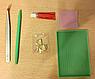 Алмазная вышивка без коробки MyArt Плюшевый мишка на подарок 50 х 50 см (арт. MA871), фото 6