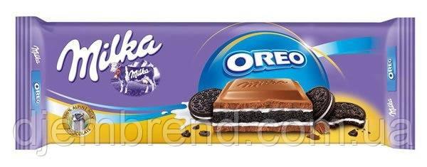 Шоколад Milka Oreo 300 г. Швейцария