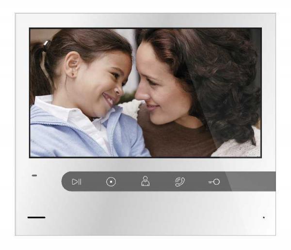 AHD 1080P відеодомофон Qualvision QV-IDS4751SC White