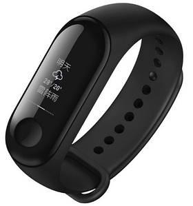 Ремешок для фитнес-браслета Xiaomi Mi Band 3 Black