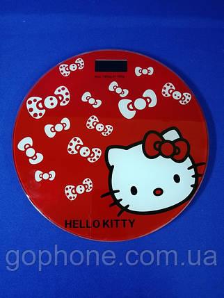 Весы напольные 180 кг BITEK BT-1603A Hello Kitty, фото 2