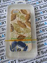 Дизайнерский чехол ручной работы для Iphone 5/5s (цветы), фото 3