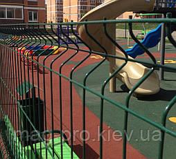 Ограждение детских площадок от 250м.пог. высота 2 м., фото 3