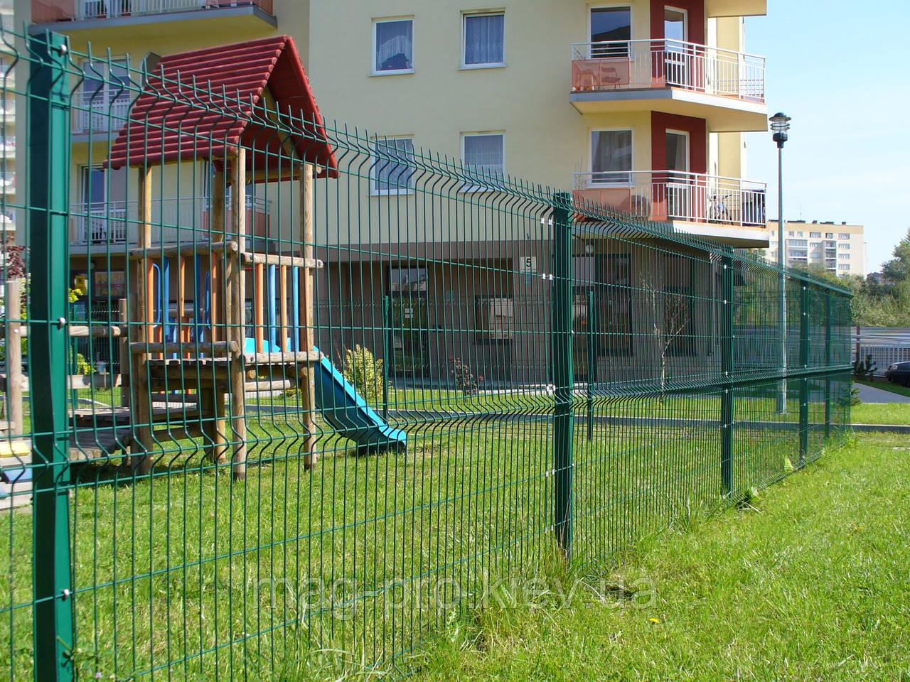 Ограждение детских площадок от 250м.пог. высота 2 м.