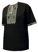 Мужская вышитая футболка «Ета»
