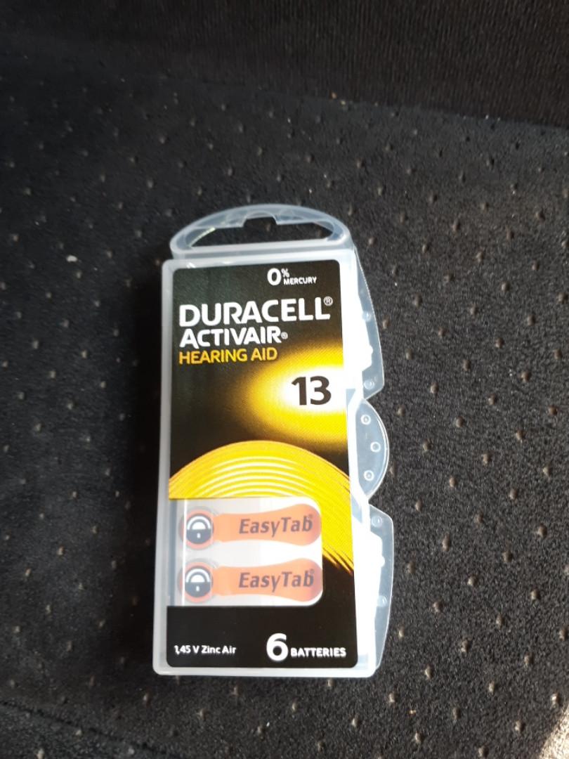 Батарейка DURACELL Zinc air 1,4 V ZA13 / DA13 / PR48 (290mAH)
